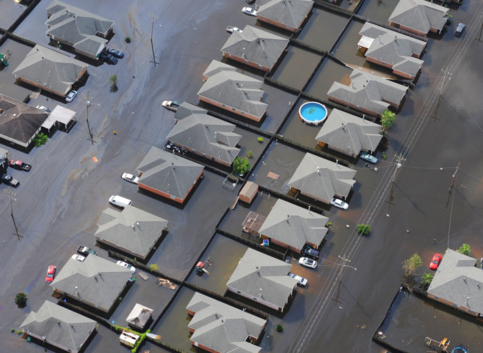 Flood is the most common (and costly!) disaster in the United States. How can you help your social media followers protect their property from flood damage?